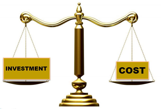 Investment vs Cost