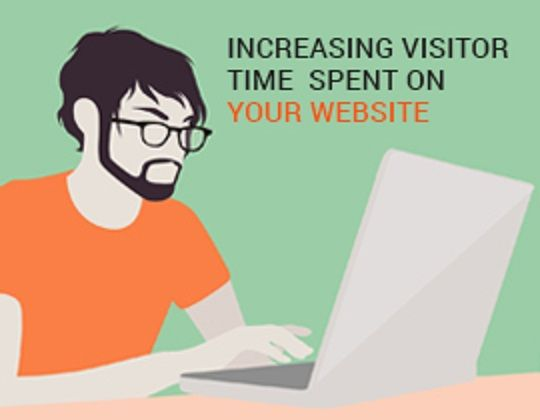 Increase visitor time on website