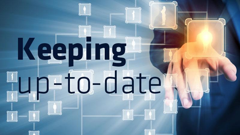 Make your website upto date