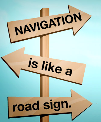 Website navigation is necessary