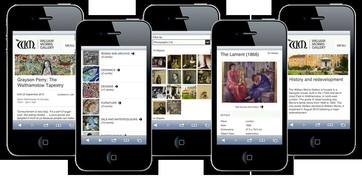Dedicated Mobile Site