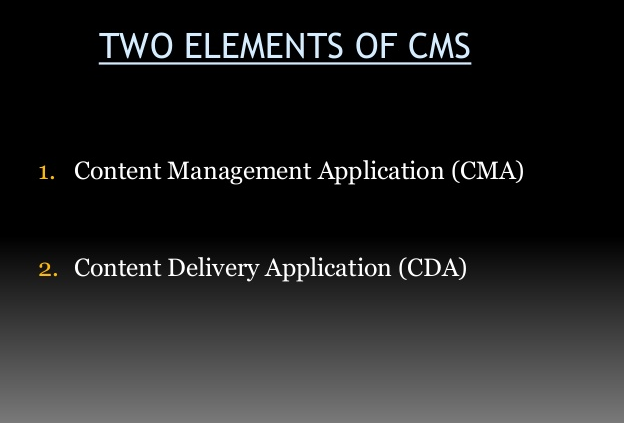 Elements of CMS