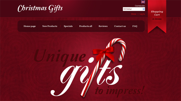 Festive Website Design