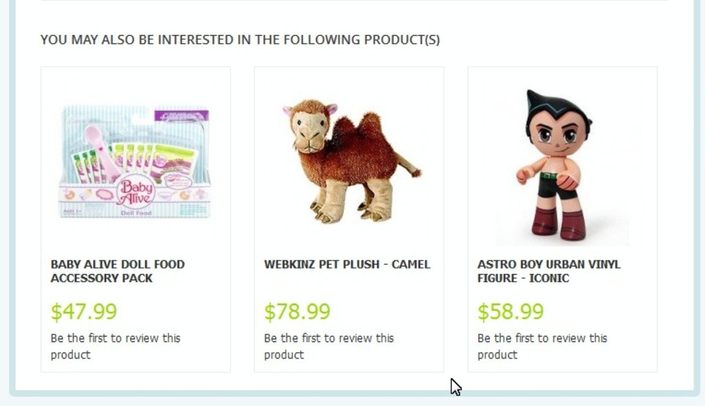Product Upsell