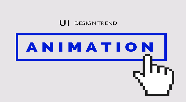 User Interface Design Trend Animation