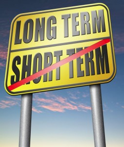 Use Long Term & Ignore Short Term Content Marketing
