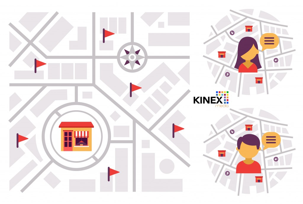 location based Marketing kinex media