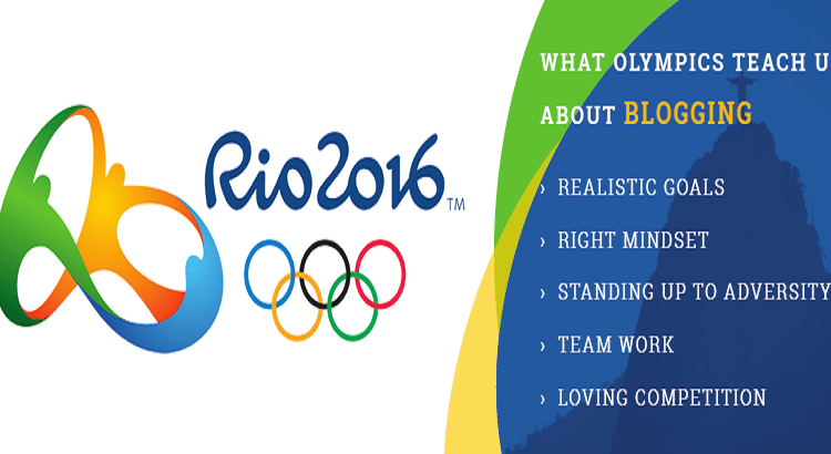 Olympics Teach us Blogging