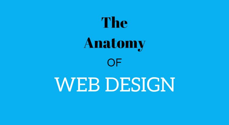 anatomy of web design