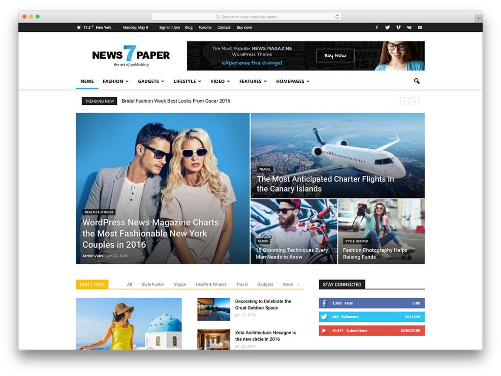 newspaper-popular-magazine-wordpress-theme
