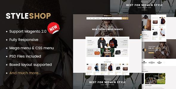 Style-shop magento 2 theme