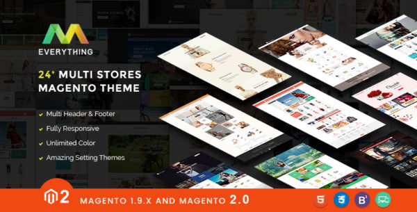 everything magento 2 theme