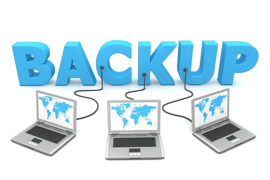 Backup the website