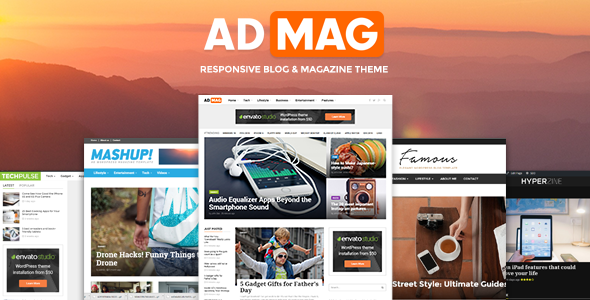 ADMAG WordPress theme