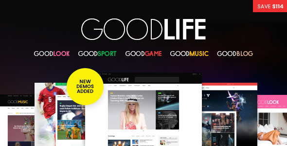 Goodlife WordPress Theme