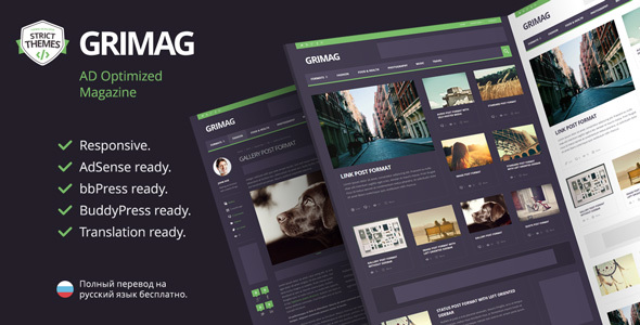 Grimag WordPress Theme