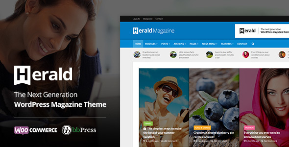 Herald WordPress theme