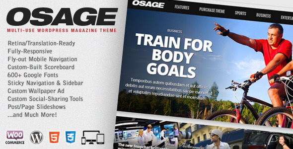 Osage WordPress theme