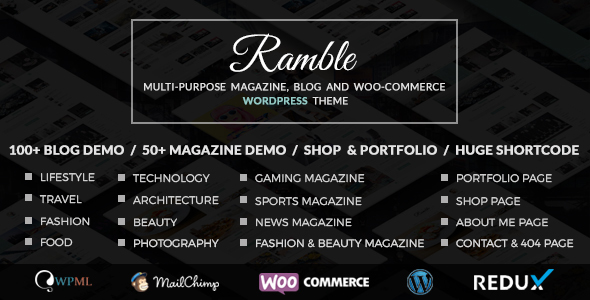 Ramble WordPress theme