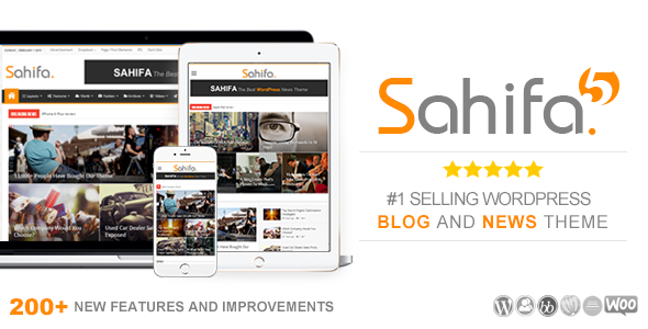 Sahifa WordPress theme