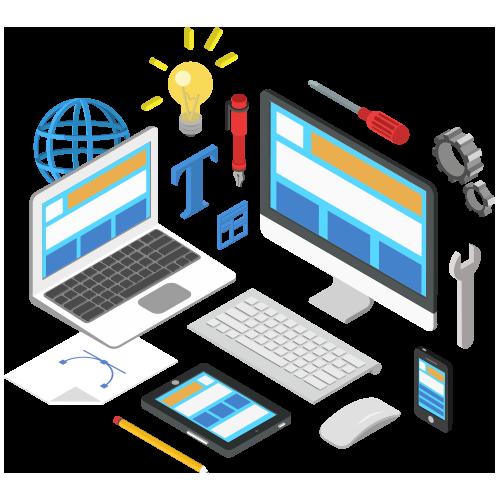 THE WEBSITE DESIGN