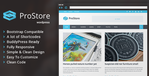 prostore wordpress theme