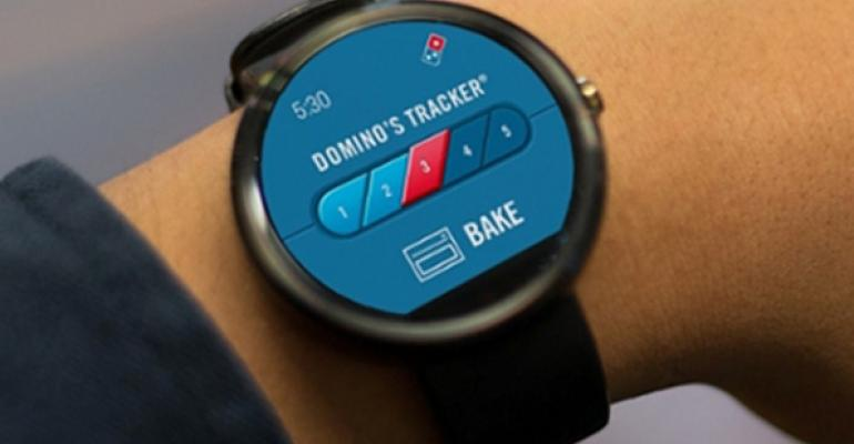 Domino's - Order By Smart Watch