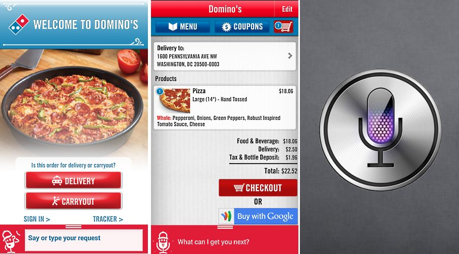 Domino's - Order By Voice