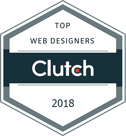 Clutch Award 2018 - Web Designers Kinex Media