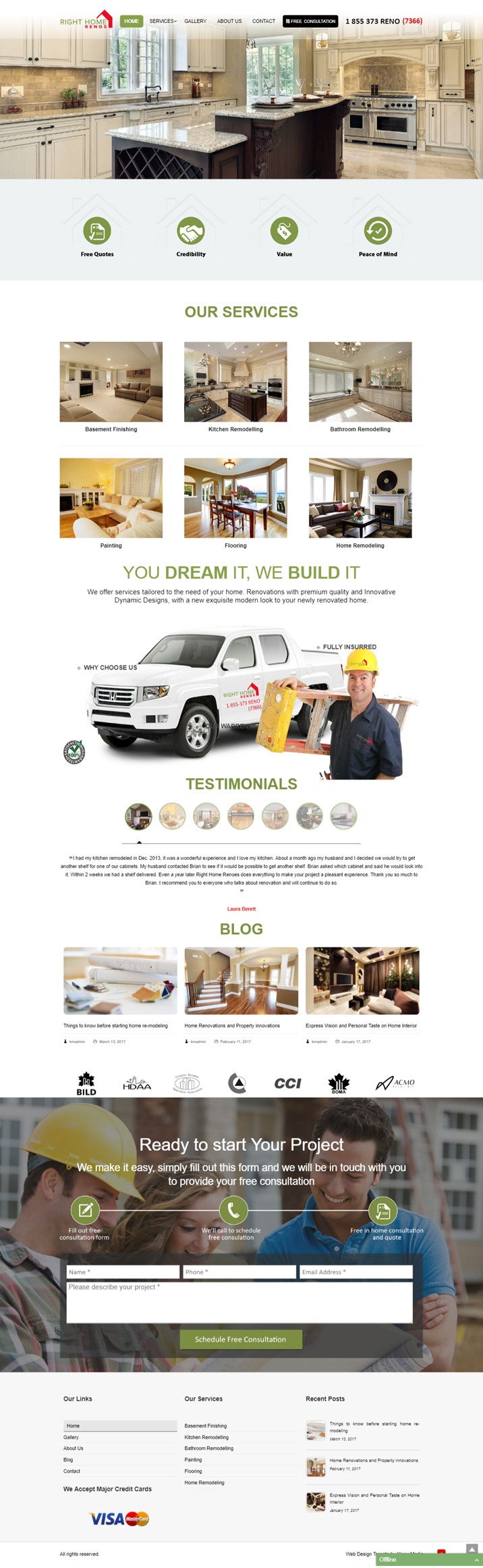 Right Home Renos