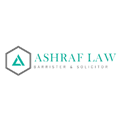Ashraf law logo