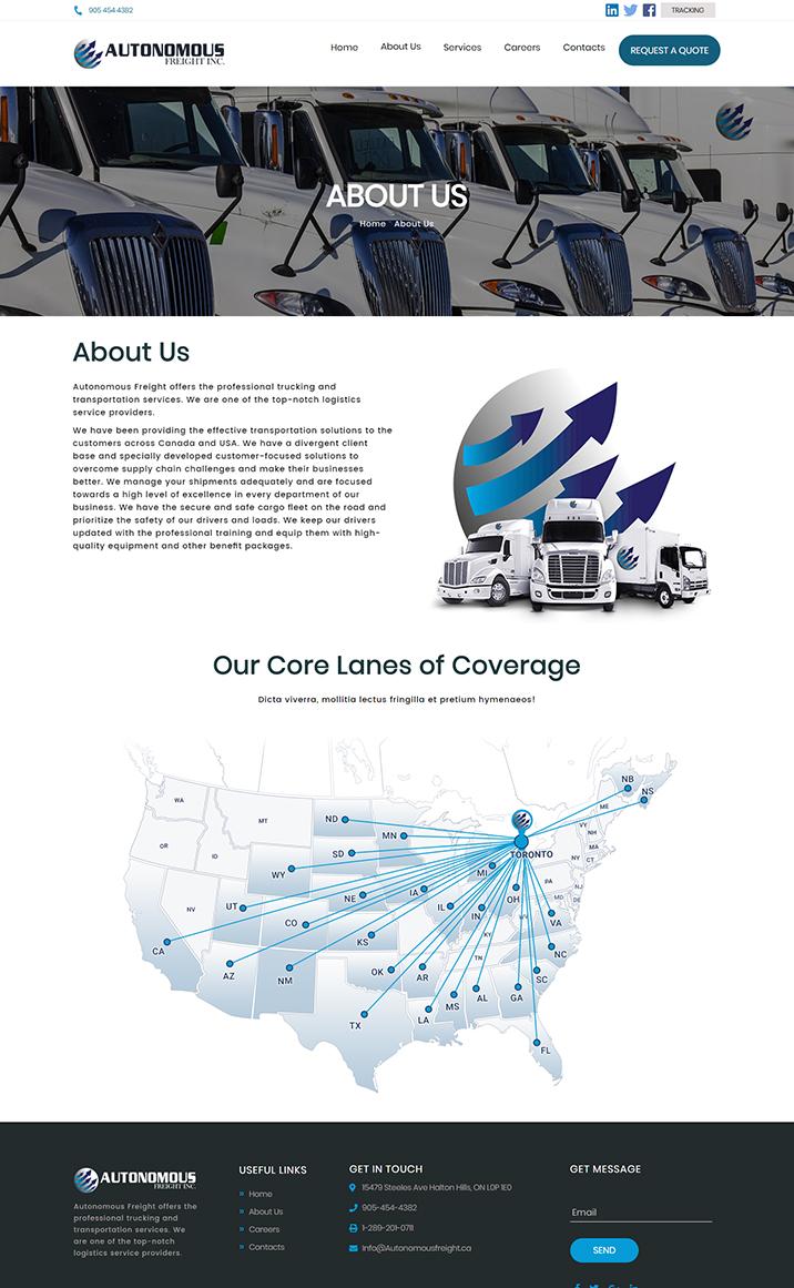 Autonomous Freight