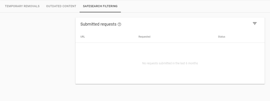 Safesearch Filter Console