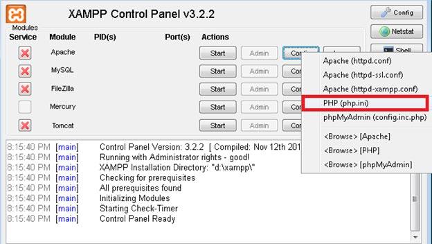 XAMPP Configuration