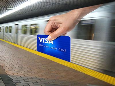 visa card Guerrilla Marketing