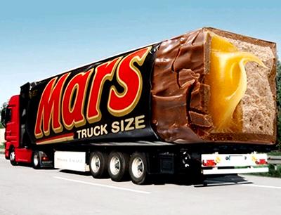 Mars guerilla marketing